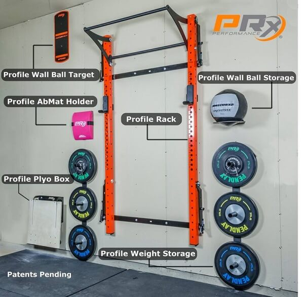 PRX Pro Rack With Kipping Bar (New)