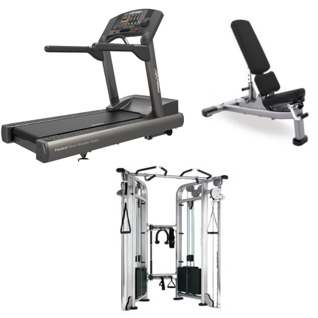 Refurbished & New Home Gym Commercial Package